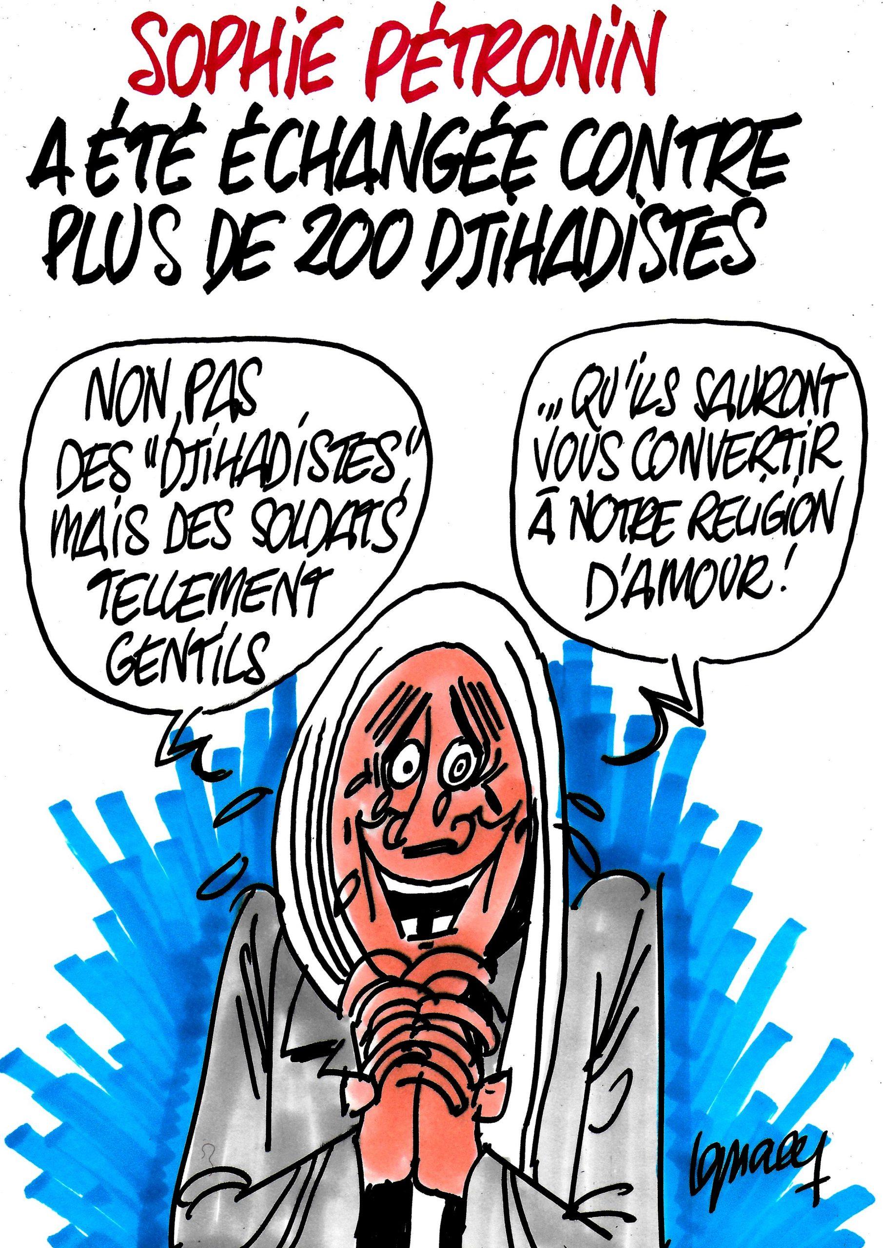 Ignace - Sophie Pétronin et 200 djihadistes en prime