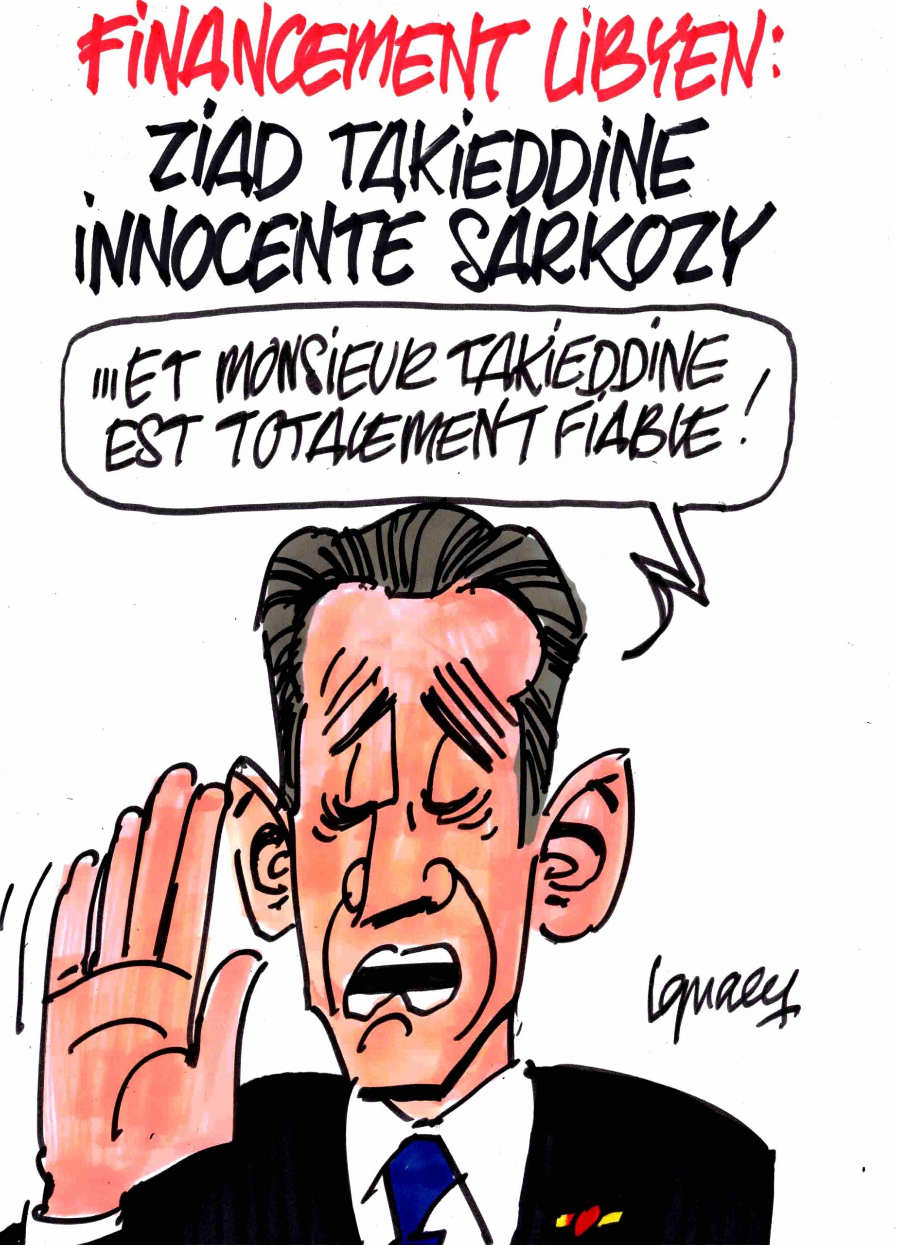 Ignace - Takieddine innocente Sarkozy