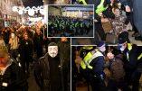 Londres – Démonstration de dictature sanitaire