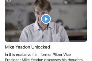 Le Dr Yeadon, ancien directeur scientifique du labo Pfizer, affirme qu'un vaccin contre le Covid-19 n'est pas nécessaire pour éteindre l'épidémie