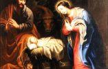 Vendredi 25 décembre – Nativité de Notre Seigneur Jésus-Christ