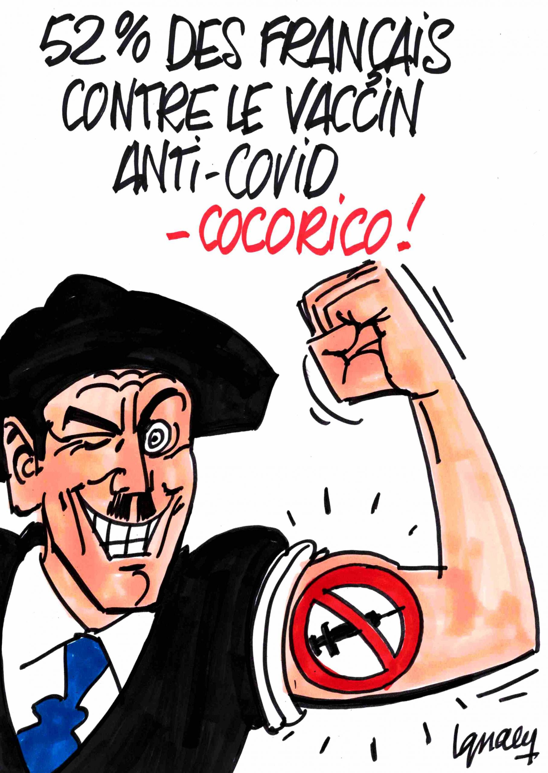 Ignace - 52% des Français contre le vaccin anti-covid