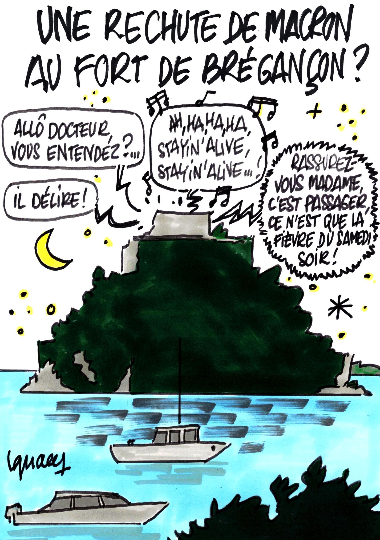 Ignace - Une rechute de Macron au Fort de Brégançon ?