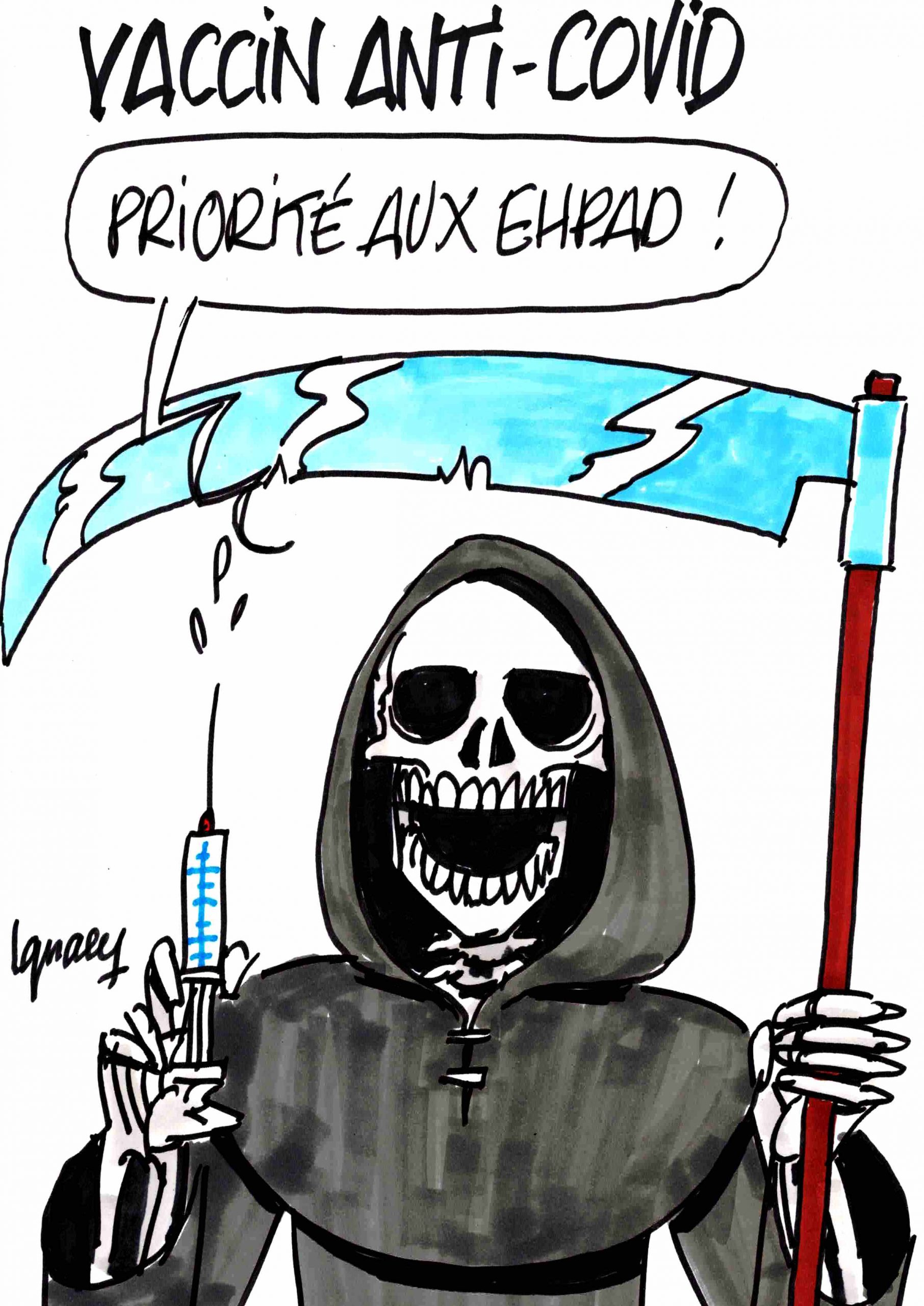 Ignace - Le vaccin anti-covid arrive !