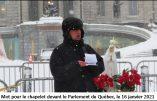 Québec – Messieurs du Gouvernement, Rendez-nous la messe, par M. l'abbé Raphaël d'Abbadie d'Arrast