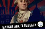 16 janvier 2021 à Paris – Marche aux flambeaux pour Louis XVI