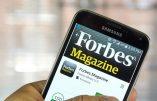 Forbes menace les sociétés qui embaucheraient des anciens collaborateurs de Trump