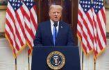 Le discours d'adieu du Président Trump en adresse à la Nation