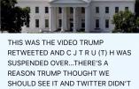 La vidéo que Trump avait retweetée avant la fermeture de son compte Twitter le 8 janvier dernier