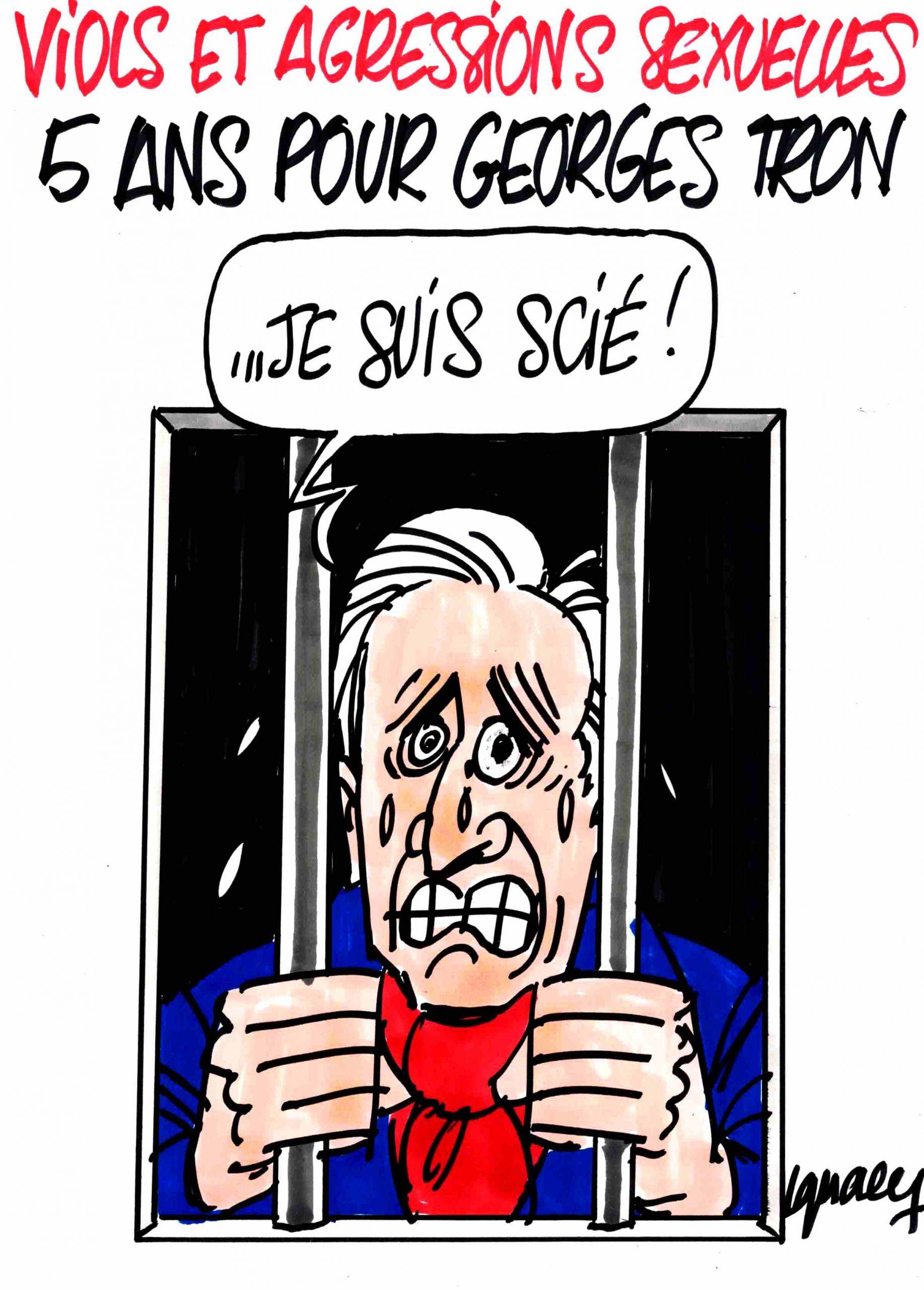 Ignace - Cinq ans de prison pour Georges Tron