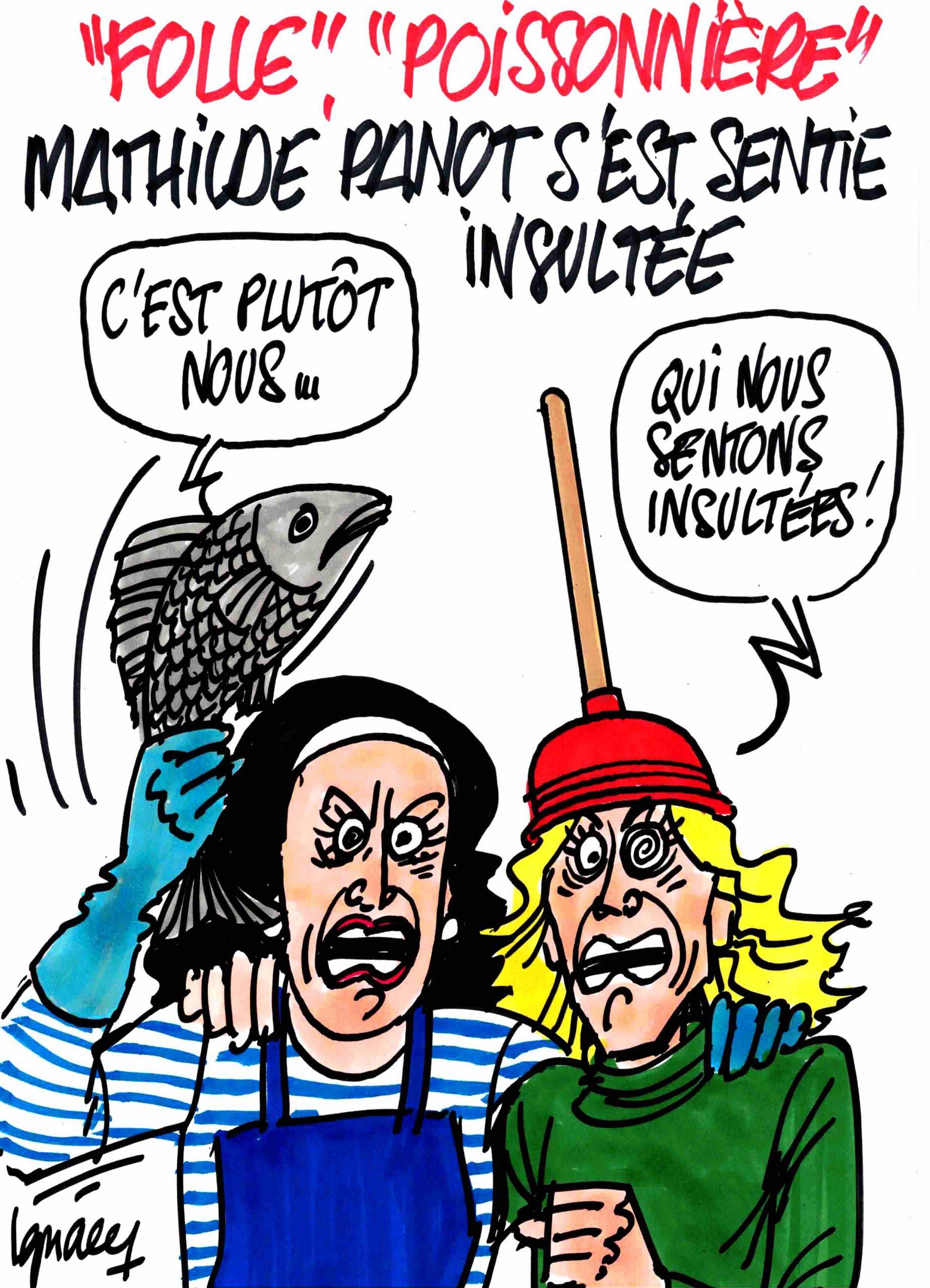 Ignace - Mathilde Panot se sent insultée