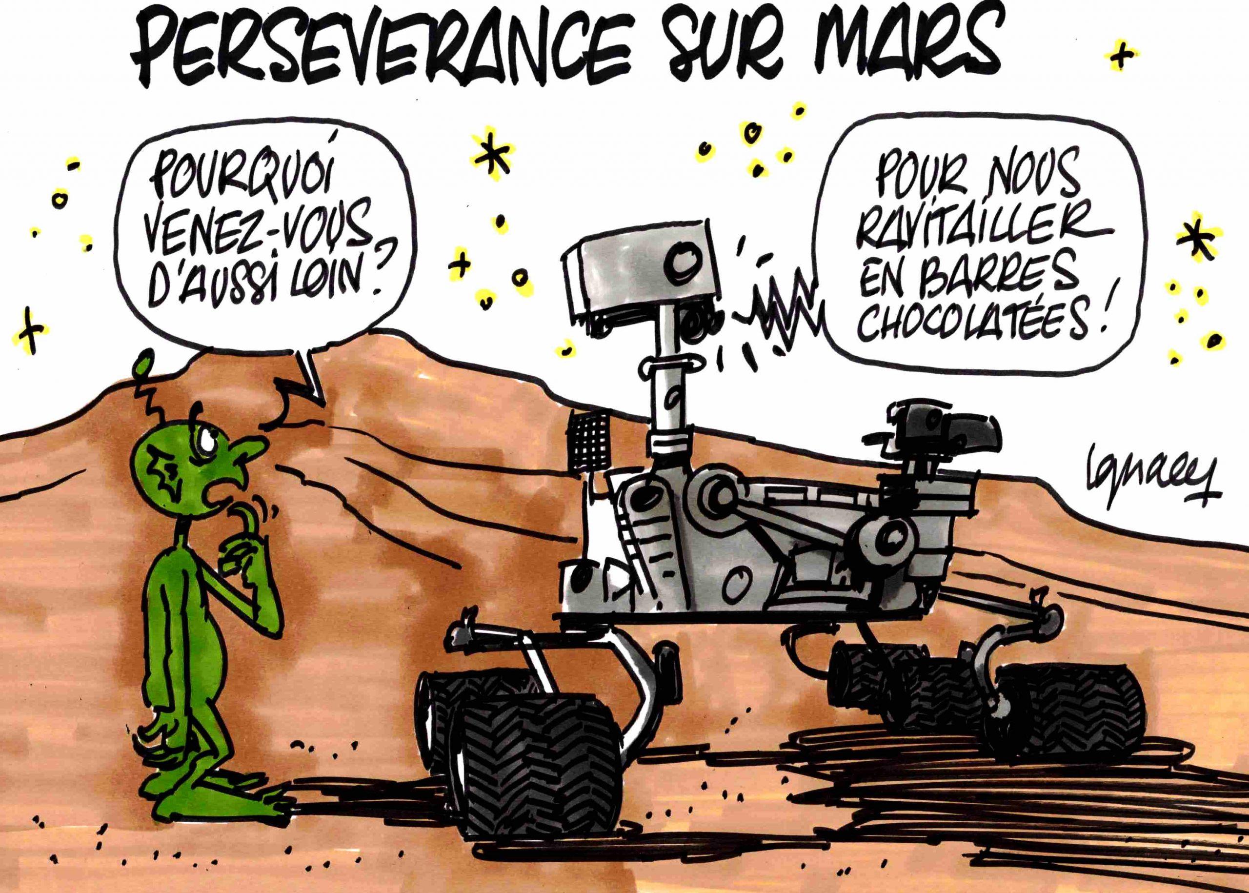 Ignace - Perseverance sur Mars